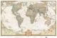 Карта мира под старину NG А1